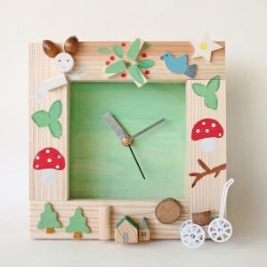 アイスタジオ・ウッズ 新・森の物語時計 A99N  木工工作キット|morinokobito