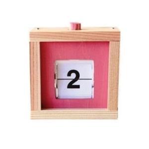 木工工作キット 趣味学校工作 商品名  :カレンダーキューブ S28 完成サイズ:W90×D60×H...
