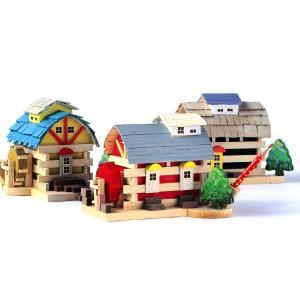 アイスタジオ・ウッズ 新・森の水車小屋 A72 ログハウス貯金箱 木工工作キット|morinokobito