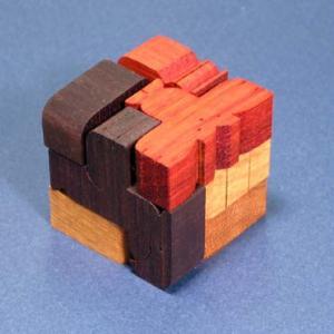 バードキューブ CP119 ポリキューブパズル 小黒三郎組み木|morinokobito