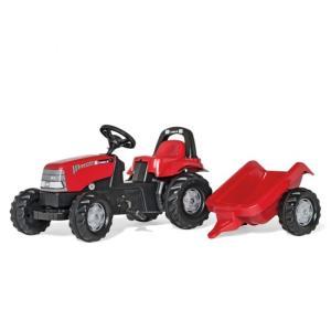 乗用おもちゃ rolly toys ロリートイズ Caseキッズ トレーラー付き 012411|morinokobito