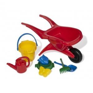外遊び ごっこ 荷運び おもちゃ 3歳 rolly toys ロリートイズ rollyお砂場遊びセット&一輪車 RT271672|morinokobito