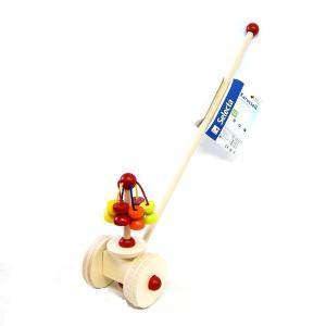 ベビーおもちゃ 木のおもちゃ プッシュトーイ SELECTA セレクタ 手押し・メリーゴーランド SE62031|morinokobito