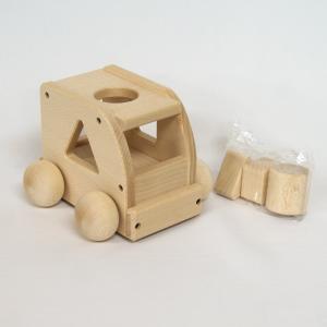 木 おもちゃ オルゴール 平和工業 MOCCOの森 森のメロディーバス W-72|morinokobito