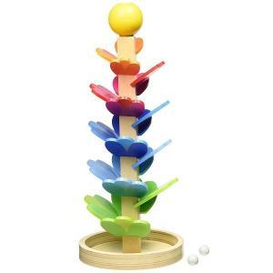 木のおもちゃ スロープトイ 知育玩具 Gollnest&Kiesel(ゴキ)マーブルサウンド パゴタ G53832 morinokobito