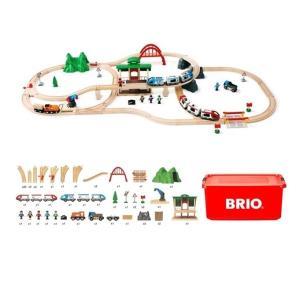 木のおもちゃ 木製レールセット BRIO ブリオ 2020年クリスマス限定レールセット 80000-132|morinokobito