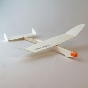 あおぞら ホワイトウイングス Racer(レーサー) 554 滞空競技用機 1機セット morinokobito