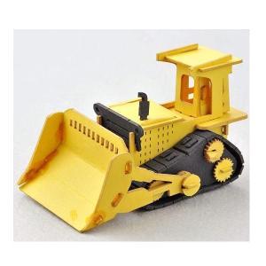 あおぞら ペーパークラフト Cars Craft mini Bulldozer ブルドーザー CCM-K3|morinokobito