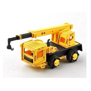 あおぞら ペーパークラフト Cars Craft mini Crane Car クレーンカー CCM-K6|morinokobito