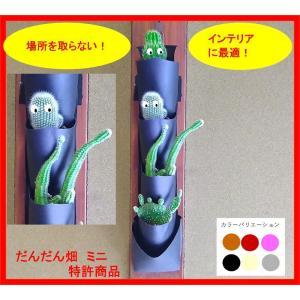 森の音モダチ「だんだん畑ミニ」(特許取得) インテリアグリーン 1列×2段〜5段(幅約9cm) 単色 生産直売 morinootomodachi