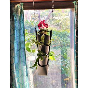 森の音モダチ「だんだん畑ミニ」(特許取得) 両面植栽 2段×1列(幅約9cm) 単色  morinootomodachi