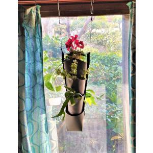 森の音モダチ「だんだん畑ミニ」(特許取得) 両面植栽 3段×1列(幅約9cm) 単色  morinootomodachi