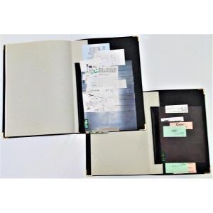 だんだん畑マグネットfor手帳 19×15×10枚 右側開きor左側開き 特許取得済 収納できる手帳 メモ、領収書、お札等の収納に便利で出し入れ容易|morinootomodachi