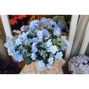 19・NEW・アジサイ 紗(すず)ブルー 5号鉢|morinouen-store
