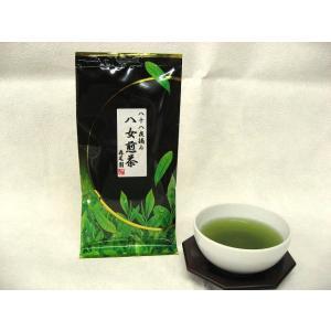 緑茶 2021年度新茶 八女煎茶八十八夜摘み 100g  ネコポス発送対応 注文後即発送 長寿のお茶  |morioen