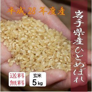 【玄米】ひとめぼれ 5kg|morioka-ringo