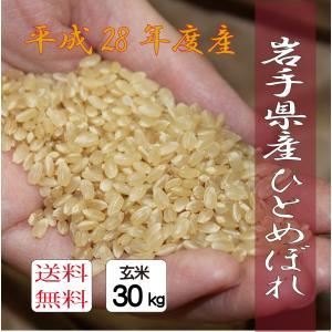 【玄米】ひとめぼれ 30kg|morioka-ringo