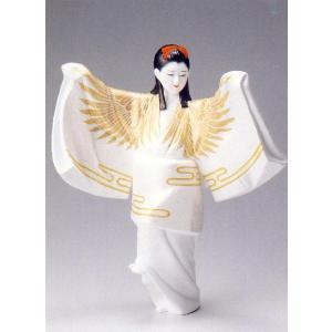 鶴(小)【博多人形】|morisige