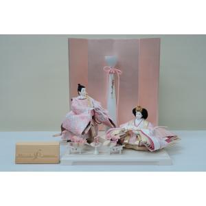 アート&デザイン後藤由香子作 PICCOLOシリーズ 春色のこころ 創作雛人形平飾り|morisige