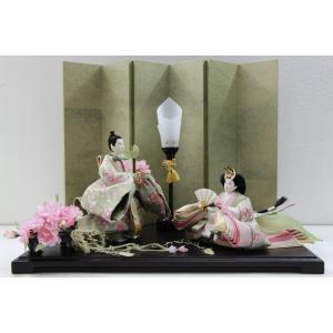 アート&デザイン後藤由香子作 里桜 創作雛人形平飾り|morisige