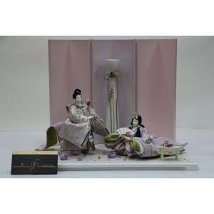 アート&デザイン後藤由香子作 PICCOLOシリーズ 藤 創作雛人形平飾り|morisige
