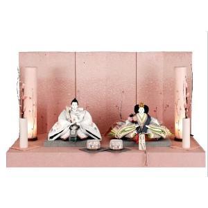 アート&デザイン後藤由香子作 志野 創作雛人形平飾り|morisige