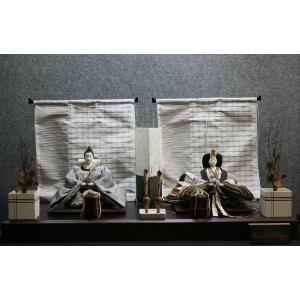 アート&デザイン後藤由香子作 エニシ 創作雛人形平飾り|morisige