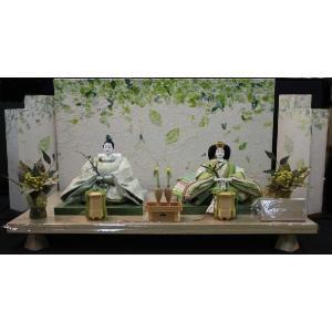 アート&デザイン後藤由香子作 こもれび 創作雛人形平飾り|morisige