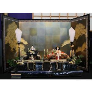 アート&デザイン後藤由香子作 松づくし 創作雛人形平飾り|morisige