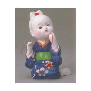 博多人形 お針子(小) 久寿夫作 素材:粘土(焼き物) サイズ:高さ14cm ケースは別売り 博多専...