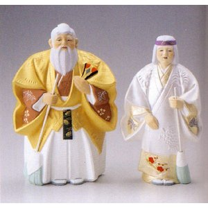 ギフト プレゼント 寿福高砂(中)博多人形|morisige