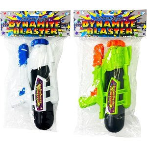 水鉄砲 タンク 強力 ウォーターガン 水ピストル おもちゃ スライド ダイナマイトブラスター|morisige