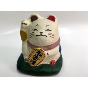 風水招き猫 和紙人形|morisige