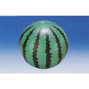 ビーチボールスイカ 35cm(B33-5)|morisige
