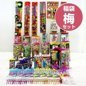 送料無料 福袋♪花火てんこ盛り福袋【梅】花火セット...