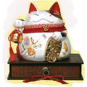 金運バンク 招き猫貯金箱|morisige