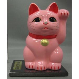 3号招き福猫桜(恋愛招福) 黒板付|morisige