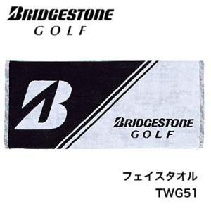 ブリヂストンゴルフ BRIDGESTONE GOLF フェイスタオル TWG51|morita-golf