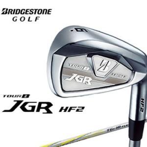 ブリヂストンゴルフ BRIDGESTONE GOLF TOURB JGR HF2 アイアン単品(#4、AW、SW) JGRオリジナル TG1-IR カーボンシャフト 2018年|morita-golf