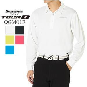 ブリヂストンゴルフ BRIGDESTONE GOLF TOUR B 長袖シャツ QGM01F 2019年秋冬モデル|morita-golf