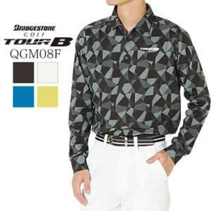 ブリヂストンゴルフ BRIGDESTONE GOLF TOUR B 長袖シャツ QGM08F 2019年秋冬モデル|morita-golf