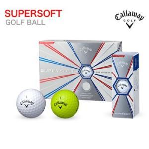 キャロウェイ Callaway SUPERSOFT ゴルフボール 1ダース12個入り 2019年モデル 日本正規品|morita-golf