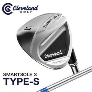 クリーブランドゴルフ Cleveland スマートソール 3 TYPE-S ウエッジ SMARTSOLE スチールシャフト 2017年日本正規品|morita-golf