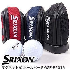 スリクソン SRIXON マグネット式 ボールポーチ GGF-B2015 ダンロップ DUNLOP 2019年カタログ掲載モデル|morita-golf