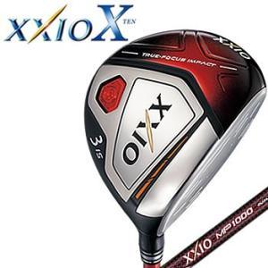 ゼクシオ テン XXIO X フェアウェイウッド レッド MP1000 カーボンシャフト ダンロップ DUNLOP 2018年モデル【メーカーお取り寄せ】【代引不可】|morita-golf