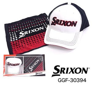 スリクソン SRIXON タオルギフト(タオル、キャップ) GGF-30394 ダンロップ DUNLOP 2019年カタログ掲載モデル|morita-golf