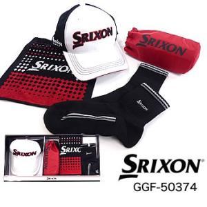 スリクソン SRIXON タオルギフト(タオル、ソックス、キャップ、ペットボトルホルダー) GGF-50374 ダンロップ DUNLOP|morita-golf