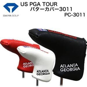 ダイヤコーポレーション US PGA TOUR パターカバー3011 ピンタイプ PC-3011 2017年モデル|morita-golf