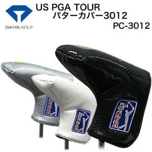 ダイヤコーポレーション US PGA TOUR パターカバー3012 ピンタイプ PC-3012 2017年モデル|morita-golf