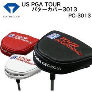 ダイヤコーポレーション US PGA TOUR パターカバー3013 マレットタイプ PC-3013 2017年モデル|morita-golf
